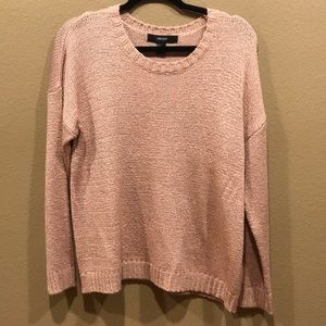 NEW Dusty Rose Sweater from Forever 21